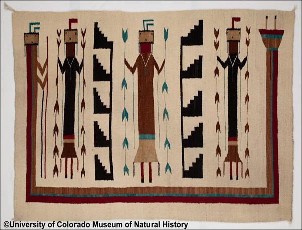 Navajo Weaving Exhibit Highlights