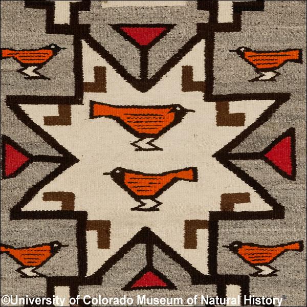 navajo indian designs for blanket 1930s unknown artist ucm 23480 navajo weaving exhibit highlights